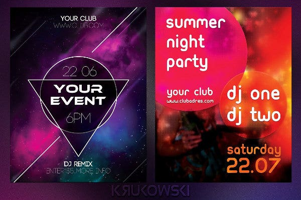 event-flyer-layout-template
