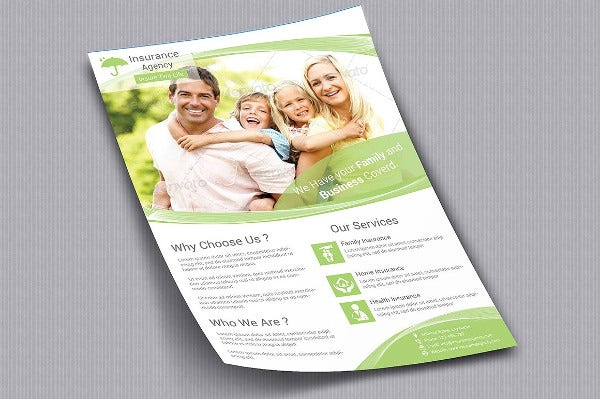 advertisement flyer layout template