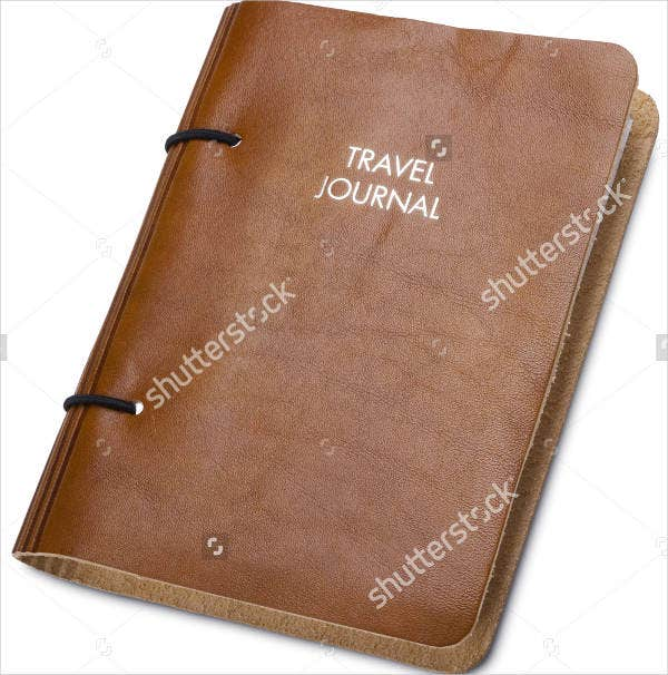Travel Journal Cover Design