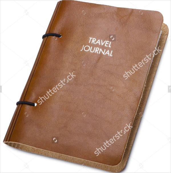 travel journal cover design