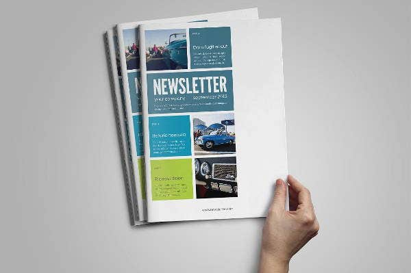 indesign newsletter layout design