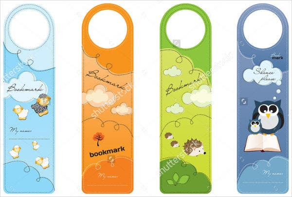 Printable Kid Bookmark Template