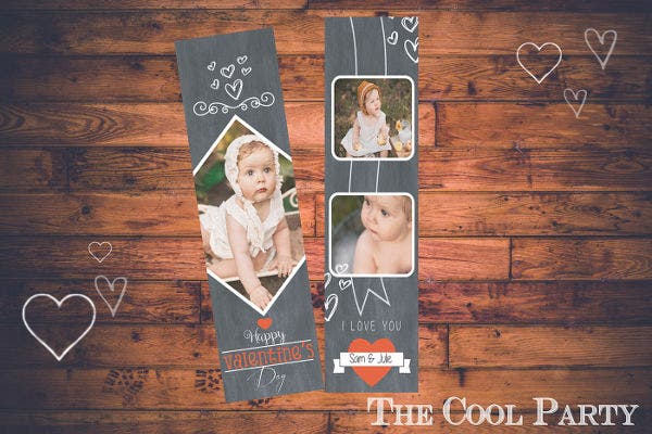 Free Kid's Bookmark Template
