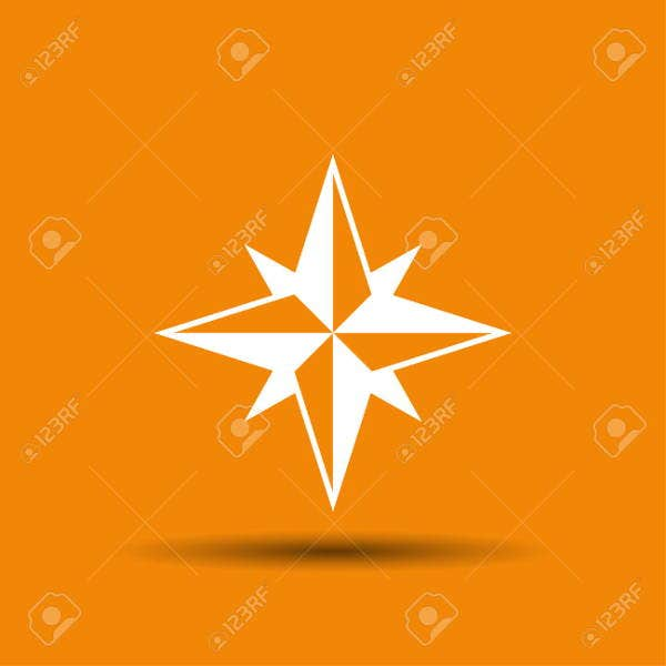 compass-star-vector