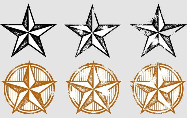 vintage-star-vector