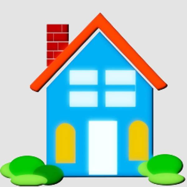 house clipart vector