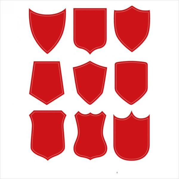 shield-shape-vector