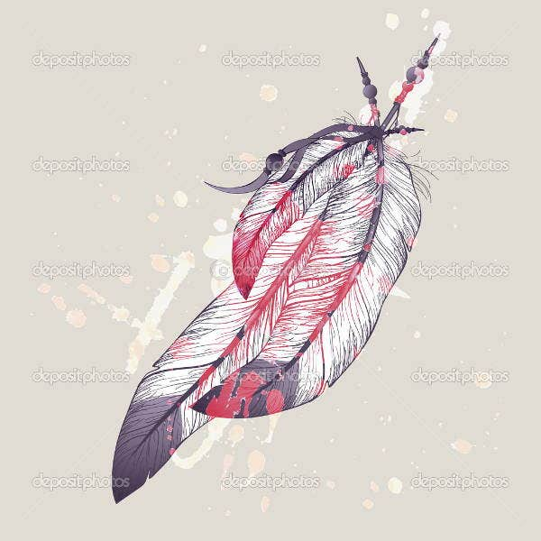 eagle-feather-illustration