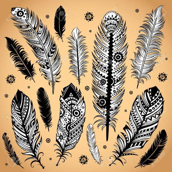 ethnic-feather-illustration