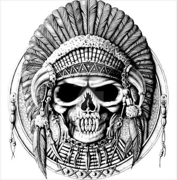 free tribal illustration