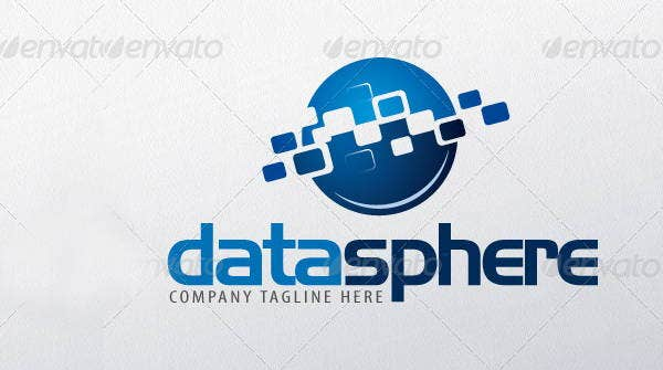 data-sphere-logo-template