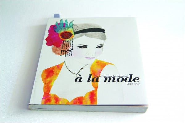 fashion portfolio cover design