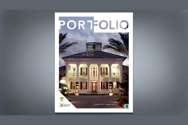 Portfolio Magazine Cover Design