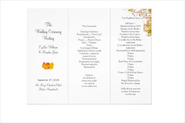 trifold-wedding-program-layout-template