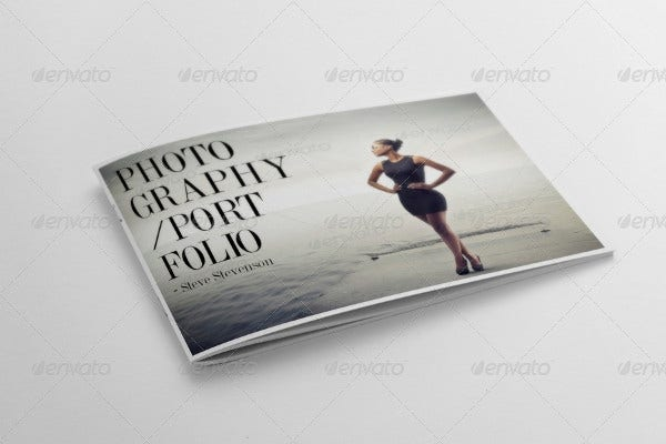 photography portfolio cover design