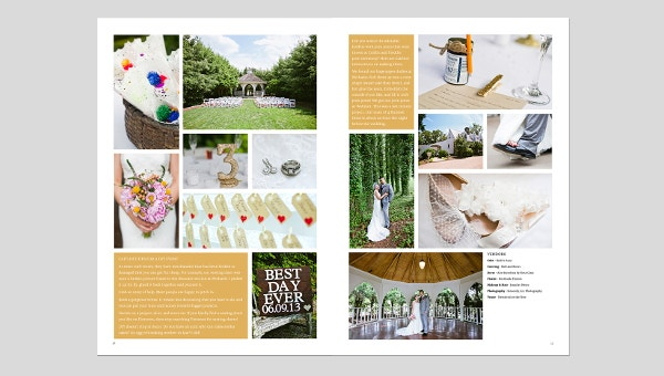 wedding layout template