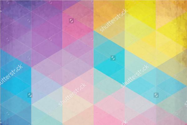 Vintage Rainbow Pattern