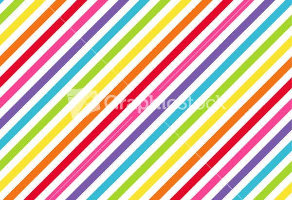 rainbow diagonal pattern