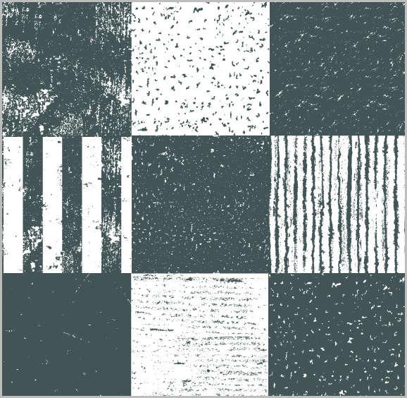vector rusty patterns