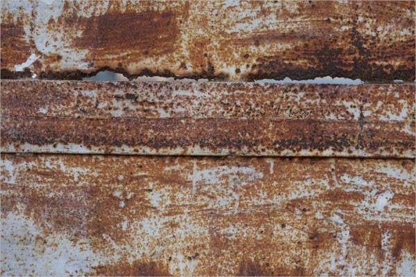 rusty metal patterns