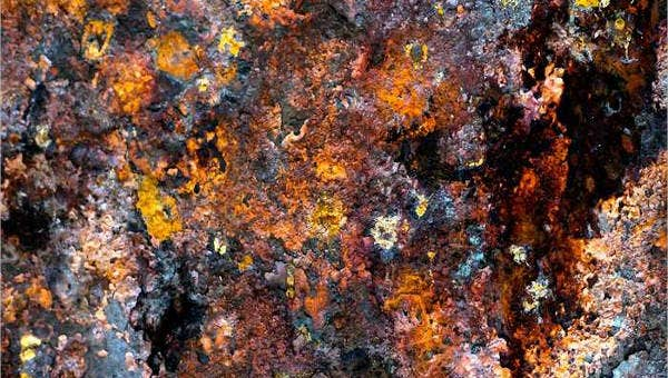 6 rusty patterns