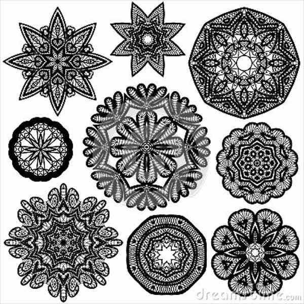 circle lace patterns