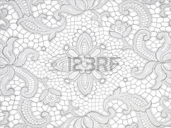 white lace patterns