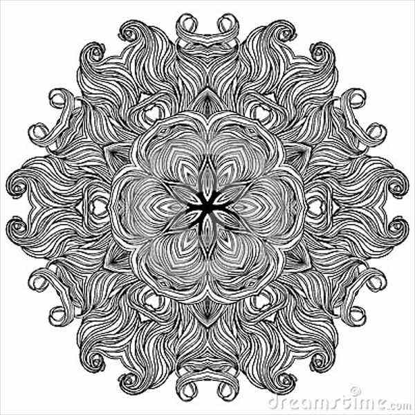 black-and-white-ornate-pattern