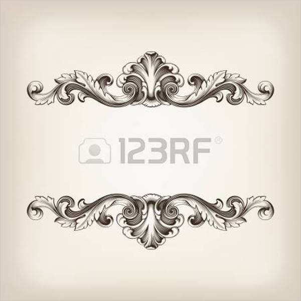 baroque ornate pattern