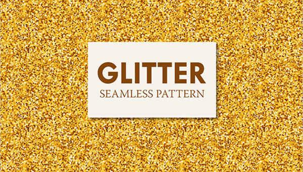 7 glitter patterns