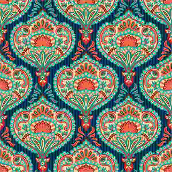 paisley ornate pattern