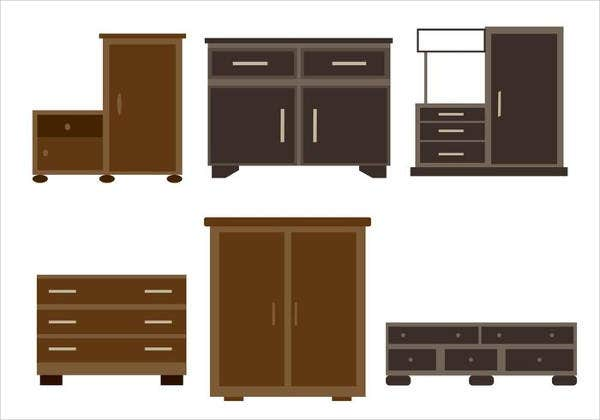 Free Furniture Icons Set