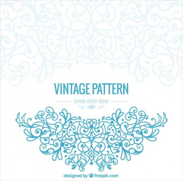 vintage ornate pattern
