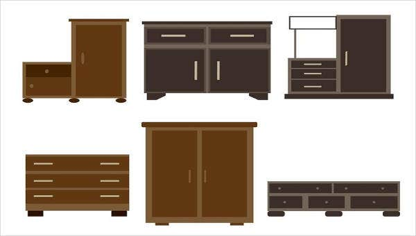 8 furniture icons