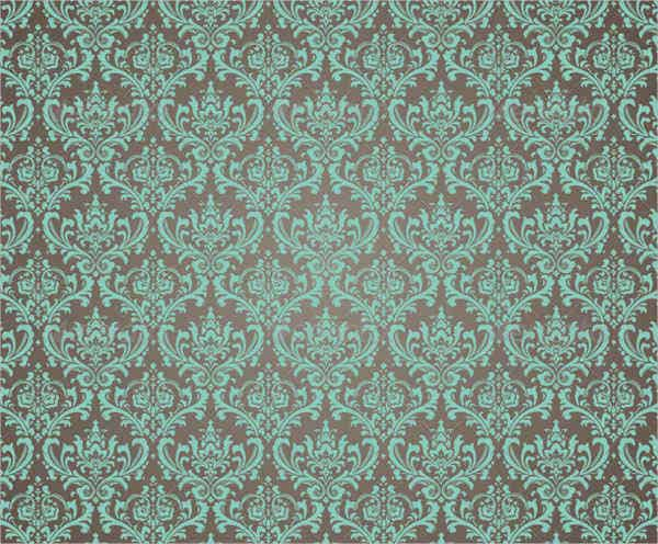 damask ornate pattern