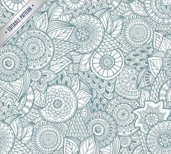 free vector ornate pattern