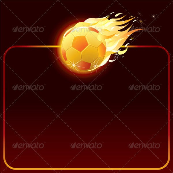 burning football icon