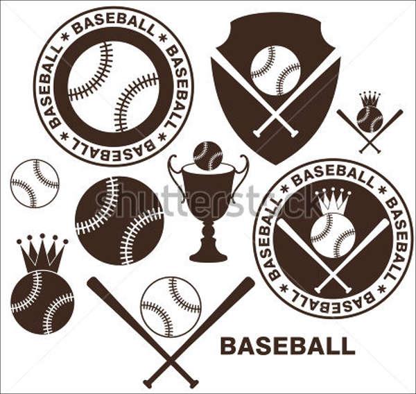 vintage baseball icon