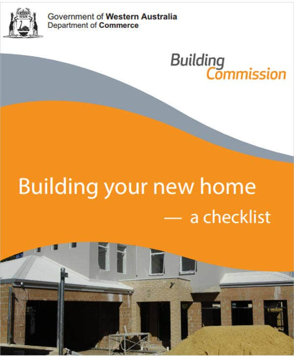 new home construction checklist pdf