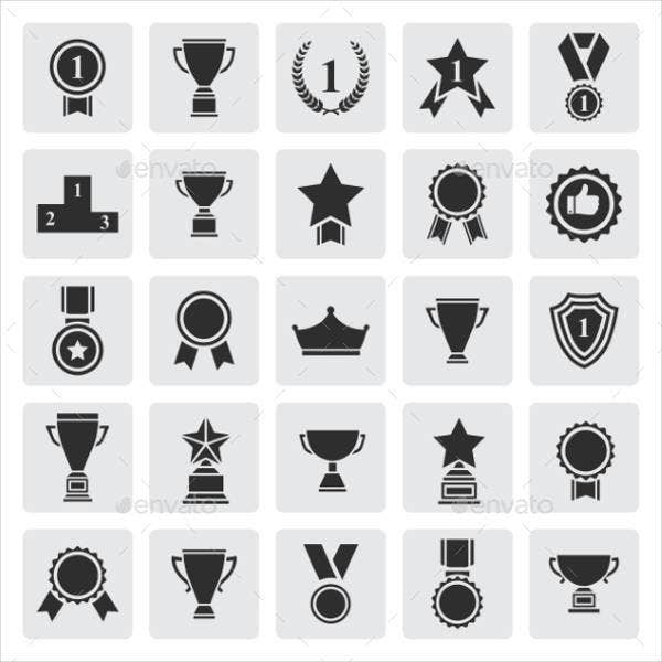 Trophy and Award Icon