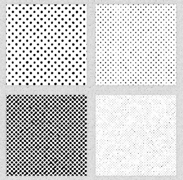 Distressed Halftone Patterns