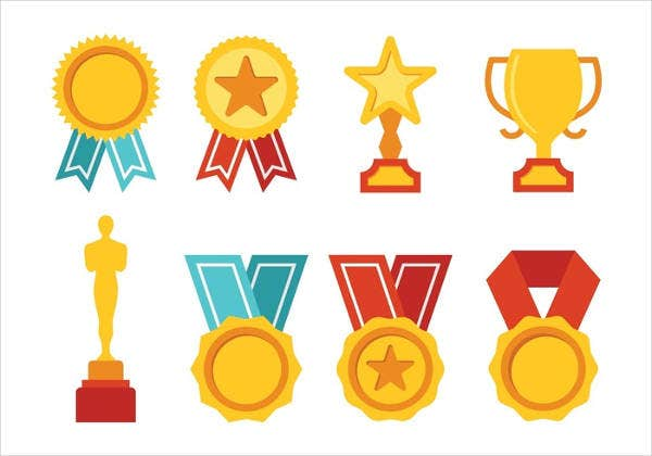Free Vector Award Icon