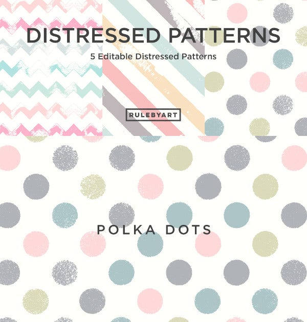 Vector Distressed Patterns
