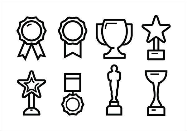 Award Outline Icon