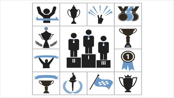8 award icons