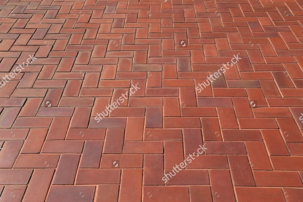 Brick Herringbone Pattern