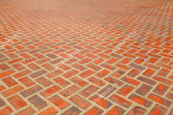 Brick Floor Tile Pattern