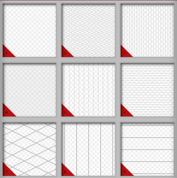 Pixel Art Grid Pattern