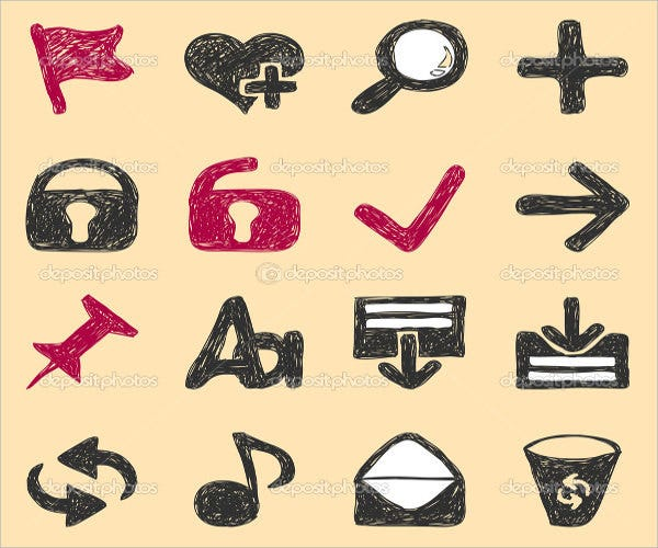web stroke icons