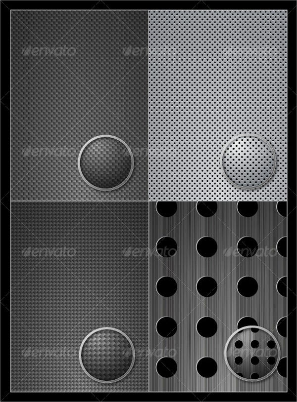 vector metal patterns